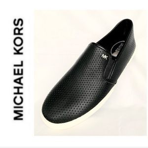 BRAND NEW MK leather Keaton fashion sneakers